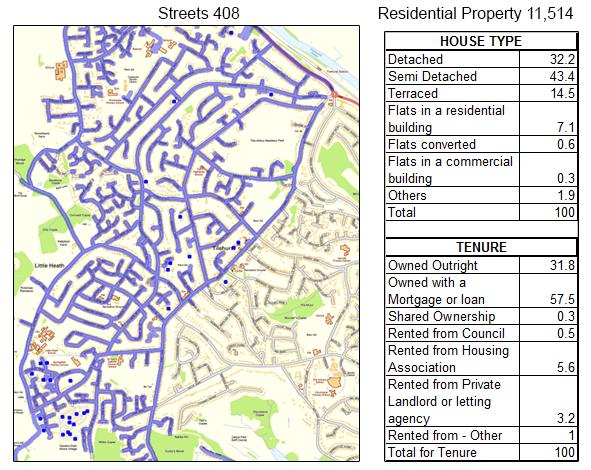 Leaflet Distribution Berkshire - Geoplan Image
