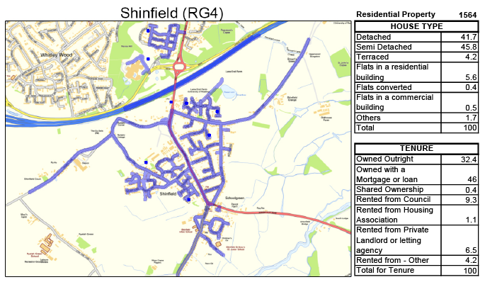 Leaflet Distribution Shinfield