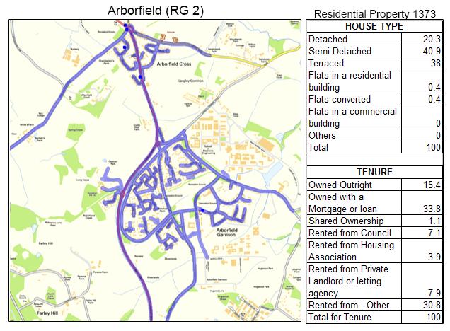 Leaflet Distribution Arborfield