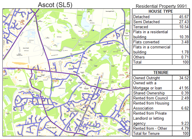 Leaflet Distribution Ascot