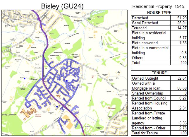Leaflet Distribution Bisley