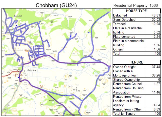 Leaflet Distribution Chobham