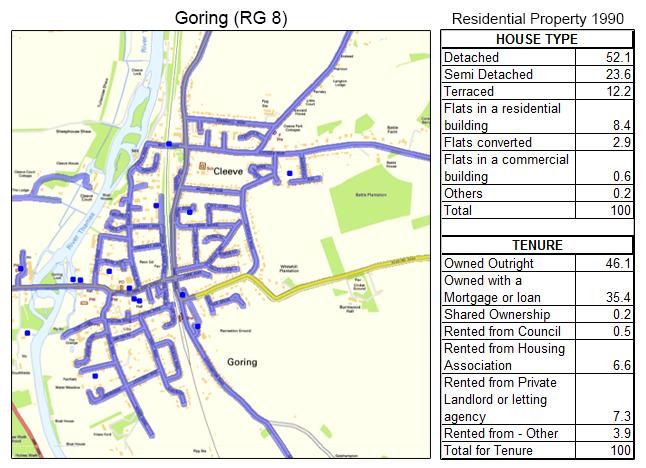 Leaflet Distribution Goring