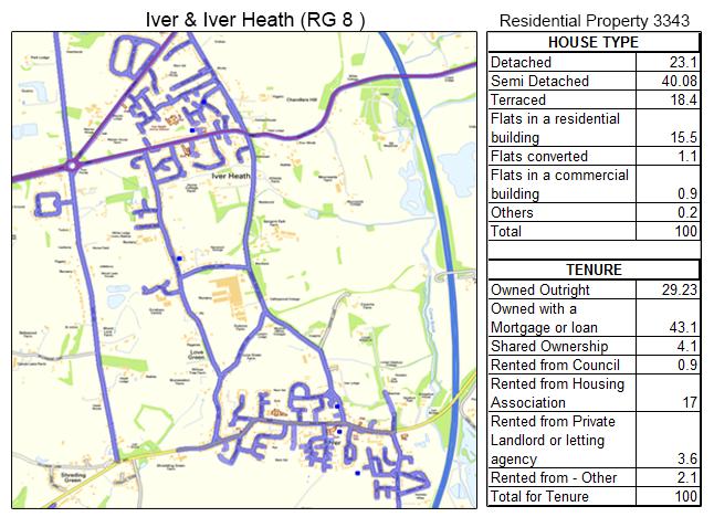 Leaflet Distribution Iver