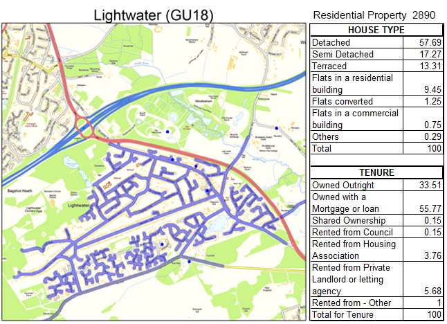 Leaflet Distribution Lightwater