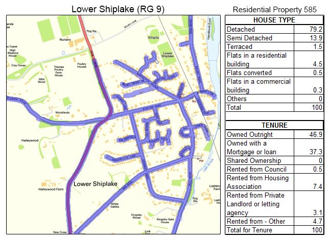 Leaflet Distribution Lower Shiplake