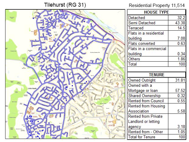 Leaflet Distribution Tilehurst