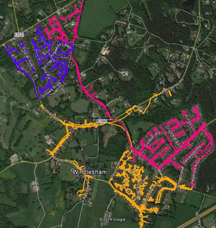 Leaflet Distribution Windlesham